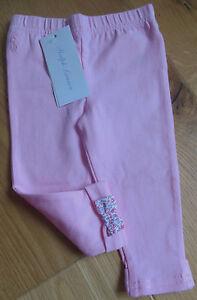 Ralph Lauren baby girl leggings 6-9-12 m BNWT designer pink