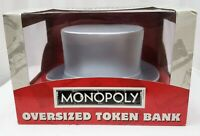 Monopoly Oversized Token Playing Piece Top Hat Bank Collectible Sealed NIB New