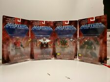 Lot of 4 He-man Masters Of The Universe 200x Motu mattel trapjaw, tri klops new