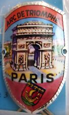 Paris Arc de Triomphe new badge mount stocknagel hiking medallion G9845