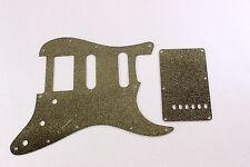 Gold Glitter HSS pickguard + trem cover set Fits Fender Strat Stratocaster