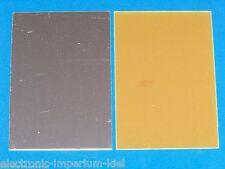 Unilateralmente recubiertos de cobre placa, PE, 120 x 80mm, 1 piezas