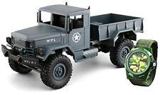 Amewi U.s.militare Camion 4wd 1 16 RTR Grigio Orologio/22327