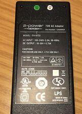 2-Power, AC/DC Adapter Model: EA 10722 [ Genuine Part ]  Output: 18-20VDC  3,79A