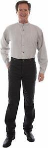Scully Rangewear Men's Rangewear Canvas Pants,  Black Rw040-Blk 30W x 35L