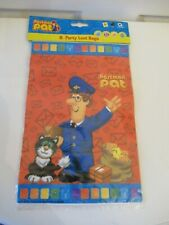 Postman Pat party loot bags, 8 children's party bags