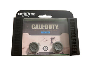 KontrolFreek Call of Duty Heritage Edition Thumbsticks PS4 PS5 Gray New