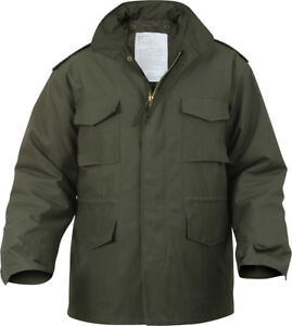 Military M-65 Field Jacket and Liner, Tactical M65 Coat Uniform Army Camo