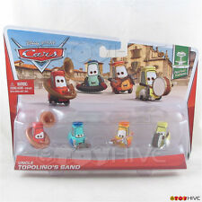 Disney Pixar Cars 2 Uncle Topolino's Band 4-pack Festival Italiano collection
