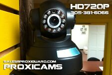 ProxiGuard - P2P Wireless IP Camera PTZ WiFi 720HD - USA Support -