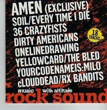 (CV327) Rock Sound Vol 59 - Amen - 2004 CD