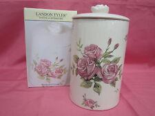 LANDON TYLER NATURAL INTERIORS HANDCRAFTED FLOWER STORAGE JAR 84-3426