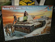 1:35 Trumpeter Russia KV-1 model 1942 Heavy Cast Turret Tank OVP