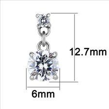 BEAUTIFUL DROP STIMULATED DIAMOND STAINLESS STEEL EARRINGS