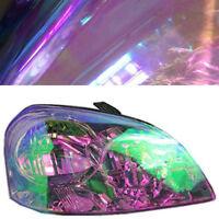 Chameleon Purple Auto Headlight Taillight Fog Light Tint Vinyl Film Sticker DIY