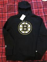 Men's Official Boston Bruins Hoodie - Size Large - Black - Brand New with Tag