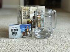 Captain Morgan - Rum Heavy Glass Tankard And Recipe Book - Brand New