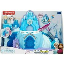 Little People Disney Frozen Elsa's Ice Palace House Musical Light-Up Playset