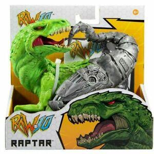 Raw 10 RAPTAR McFarlane Toys Part Animal Part Machine Dinosaur IN HAND READ!!!