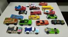 Lot of 18 Vintage Hot Wheels Cars Vehicles from 1960, 1970's & 1980's Variety