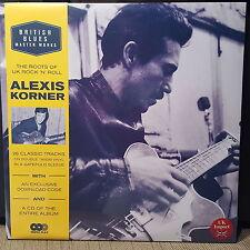 Alexis Korner / British Blues Master Works 2 x 180g Vinyl LP + CD + Download