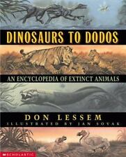 Dinosaurs to Dodos: An Encyclopedia of Extinct Animals-ExLibrary