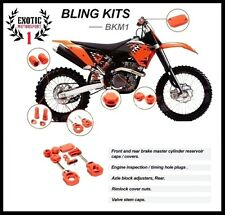 BLING KIT KTM SX SXF 125 200 300 450 500 505 EXC-F 250 350 400 530 ORANGE