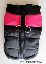 NEW DOG Harness VEST WINTER COAT Jacket parka Bomber XS-XXL(4 SM-Med Breeds)