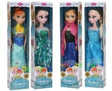 Disney Frozen Elsa Anna Dolls Play Set Girl Gift Rotatable Toys Princess Figure