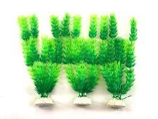"(12 Pack) 10"" Artificial Aquarium Plant Plastic Decoration - Fast Shipping!"