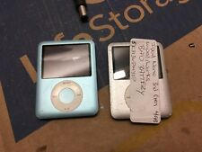 Two Apple iPod A1236 Silver 4GB 8GB 3rd Generation As Is Repair BAD BATTERY