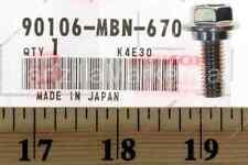 Honda 90106-MBN-670 - BOLT  FLANGE (8X21)