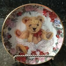 Franklin Mint Plate, A Valentine for Teddy by S. Bengry, (Holder Not Included)