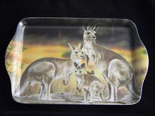Australian Souvenir Ashdene Australia Scatter Tray Kangaroo Family