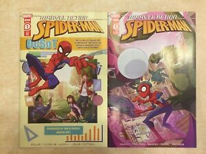 SET: 🕷 MARVEL ACTION SPIDER-MAN #1 (2021) TWO COVERS IDW PUBLISHING MARVEL