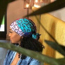 "Head wraps, african head wraps - Blue, Purple, Red, Light Blue ""RainBeau"""