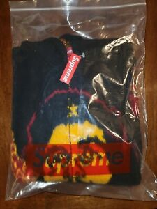 Supreme Che Hooded Zip Up Sweater Black Small IN HAND