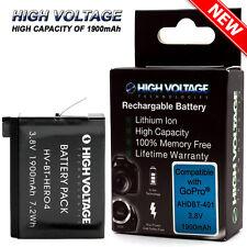 Battery for GoPro HERO4 Hero 4 Black & Silver / AHDBT-401 (1900mAh)