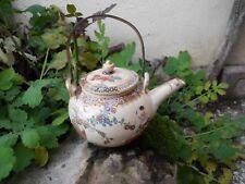 Théière Qualité Musée , céramique japonais Satsuma tea pot