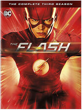 Flash: The Complete Third Season (DVD, 2017, 6-Disc Set, Widescreen) New