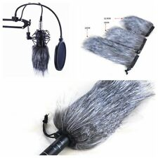 Fur Wind Cover Microphone Mic Muff For Zoom H1 H2N H4N Q3 Q3HD D50 Recorder
