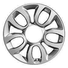 61672 Factory, OEM Reconditioned wheel 17 X 7; Light Charcoal Full Painted