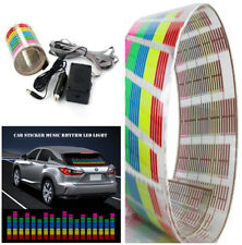 Car Sticker Music Rhythm Colorful LED Flash Light Lamp Sound Activated Equalizer