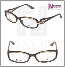 1c51f1c3bc7 CHRISTIAN DIOR VOLUTE CD3216 Dove Grey Square 54mm RX Optical Eyeglasses  Women