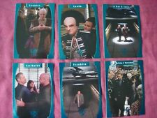 Babylon 5 Season 5 X6 One Exit at a Time chase cards Fleer/SkyBox 1998 VFN