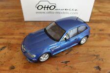 1:18 Ottomobile OttO Models BMW Z3 M Coupe in Estoril Blue OT318 - NO RESERVE
