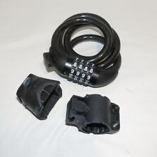 Neteez Bike Lock, Cable Combination Lock,Outdoor Gate Lock 4 digit Resettable