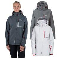 DLX Womens Softshell Jacket Waterproof Hiking Rain Coat Hooded Breathable
