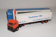 @. LION CAR DAF 2800 TRUCK WITH TRAILER TRUCKSTAR FESTIVAL 1981 TSU EXC. BOXED