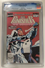 Punisher Annual 2  CGC 9.9  Moon Knight battle cover  single highest graded MINT